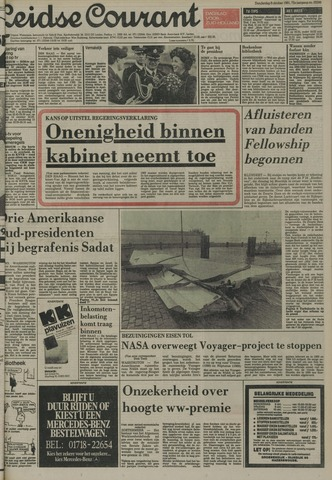 Leidse Courant 1981-10-08