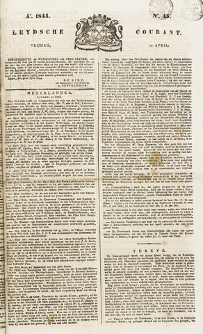 Leydse Courant 1844-04-12
