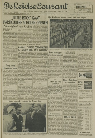 Leidse Courant 1958-09-18