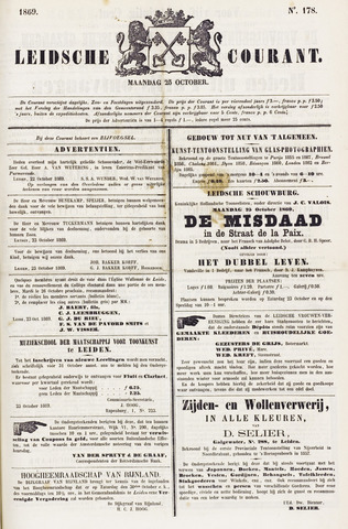 Leydse Courant 1869-10-25