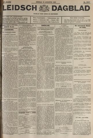 Leidsch Dagblad 1933-08-15