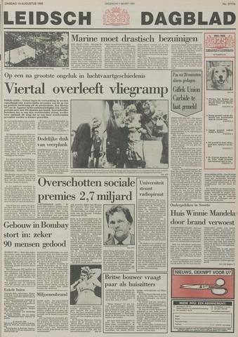 Leidsch Dagblad 1985-08-13