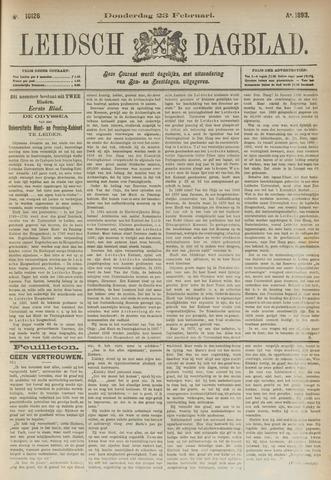 Leidsch Dagblad 1893-02-23