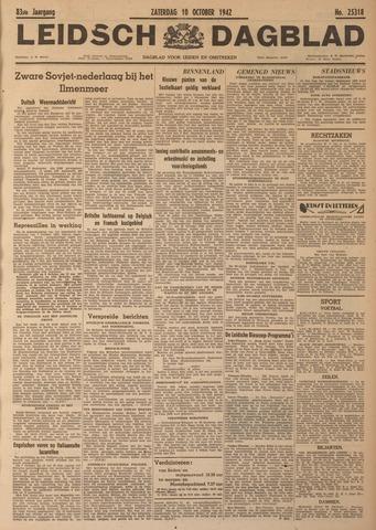 Leidsch Dagblad 1942-10-10