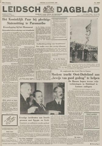 Leidsch Dagblad 1955-10-28