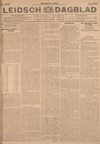 Leidsch Dagblad 1926-04-08