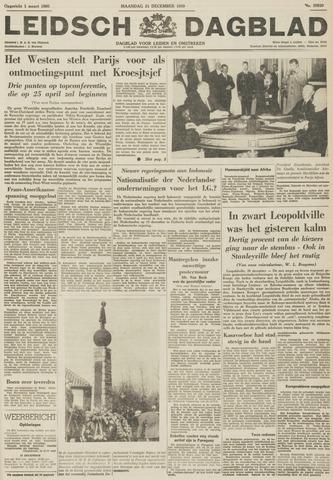 Leidsch Dagblad 1959-12-21