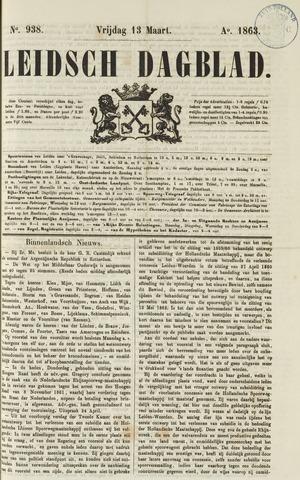 Leidsch Dagblad 1863-03-13