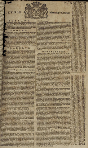Leydse Courant 1766-08-25