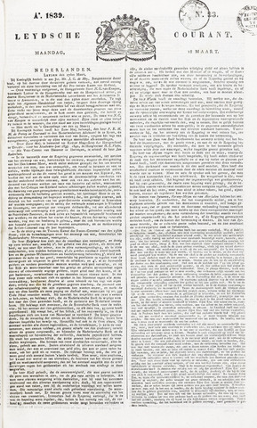 Leydse Courant 1839-03-18