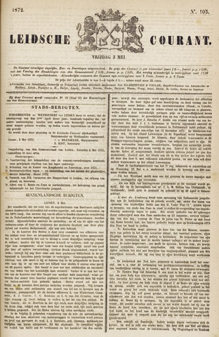 Leydse Courant 1872-05-03