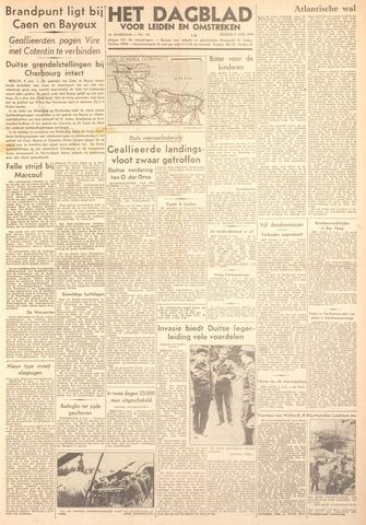 Dagblad voor Leiden en Omstreken 1944-06-09