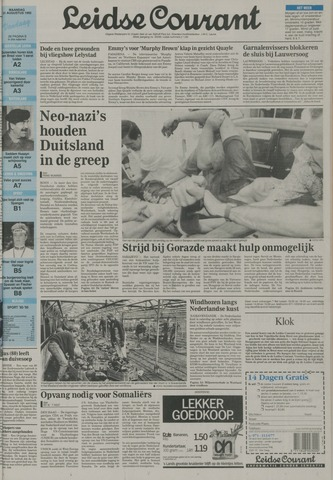 Leidse Courant 1992-08-31