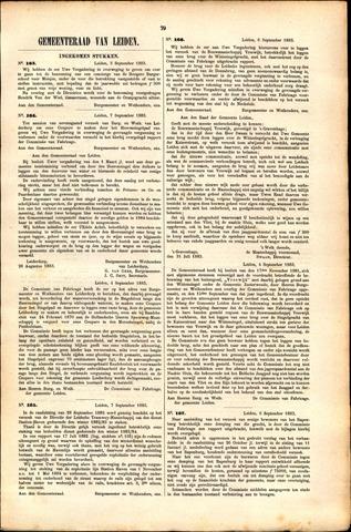Handelingen van de Raad 1883-09-03