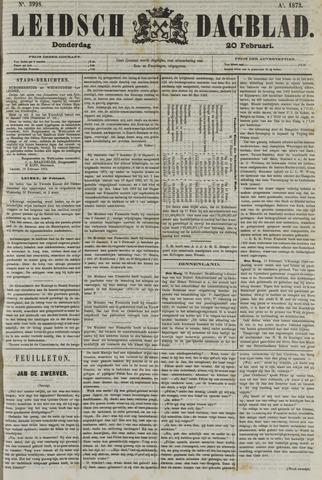 Leidsch Dagblad 1873-02-20