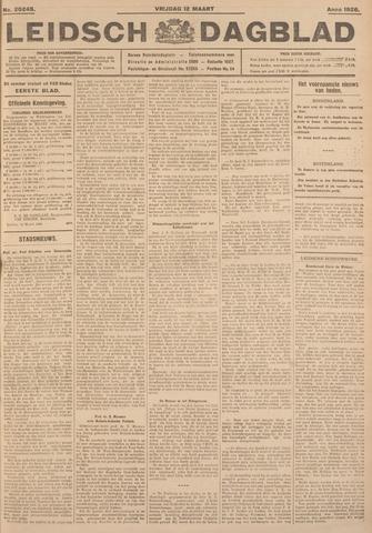 Leidsch Dagblad 1926-03-12