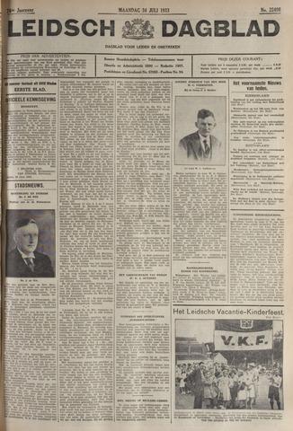 Leidsch Dagblad 1933-07-24