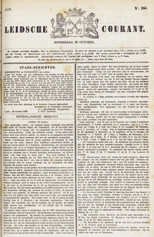 Leydse Courant 1879-10-30