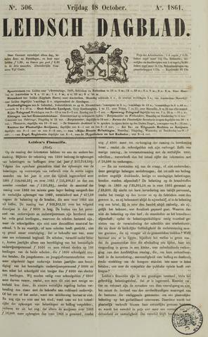 Leidsch Dagblad 1861-10-18