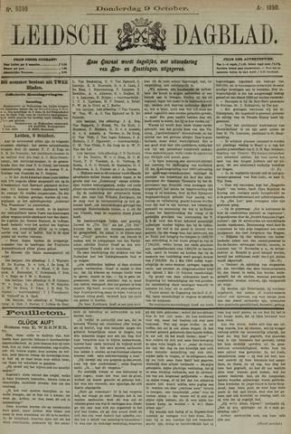 Leidsch Dagblad 1890-10-09