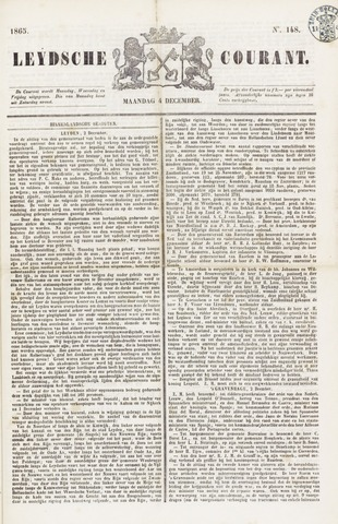 Leydse Courant 1865-12-04