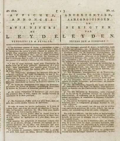 Leydse Courant 1812-02-28