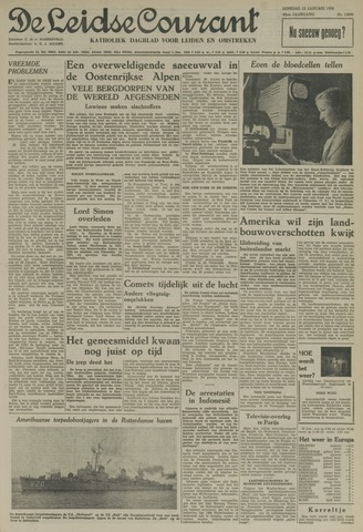 Leidse Courant 1954-01-12