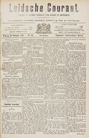 Leydse Courant 1889-01-25
