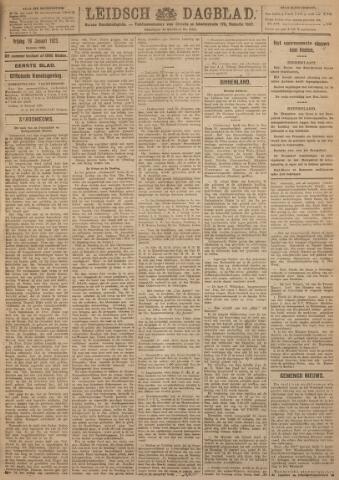 Leidsch Dagblad 1923-01-19