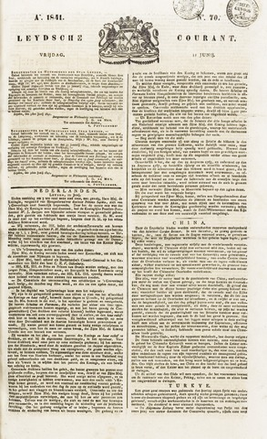 Leydse Courant 1841-06-11