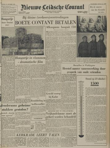Nieuwe Leidsche Courant 1957-10-23
