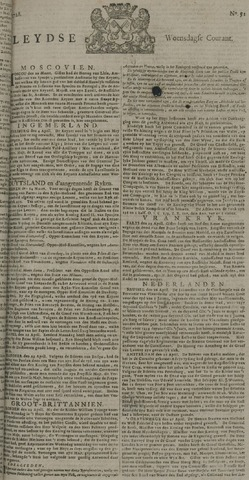 Leydse Courant 1728-04-28