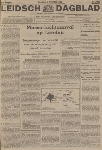 Leidsch Dagblad 1940-09-09