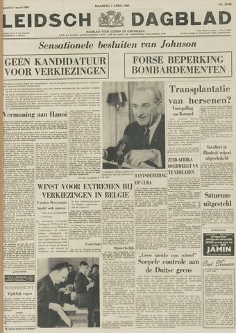 Leidsch Dagblad 1968-04-01