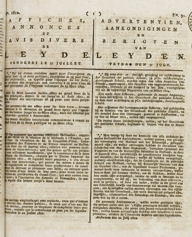 Leydse Courant 1812-07-31