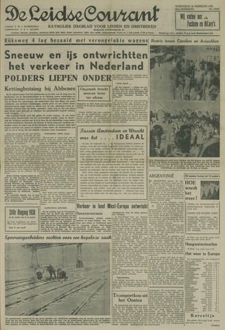 Leidse Courant 1958-02-26