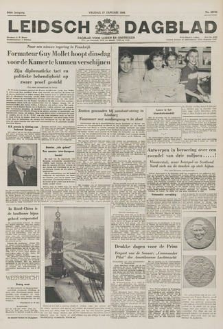 Leidsch Dagblad 1956-01-27