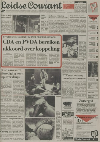 Leidse Courant 1989-10-11