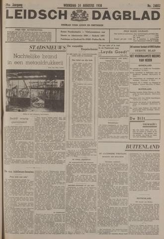 Leidsch Dagblad 1938-08-24