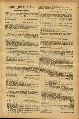 Handelingen van de Raad 1895-07-23