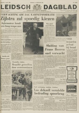 Leidsch Dagblad 1967-02-21