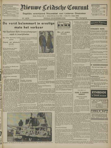 Nieuwe Leidsche Courant 1938-12-20