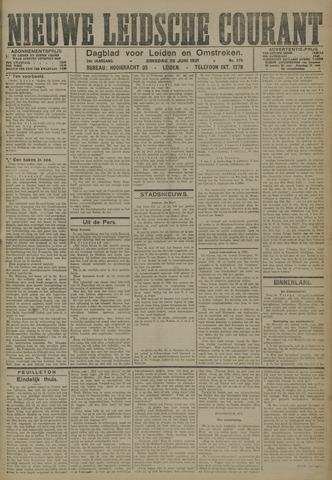 Nieuwe Leidsche Courant 1921-06-28