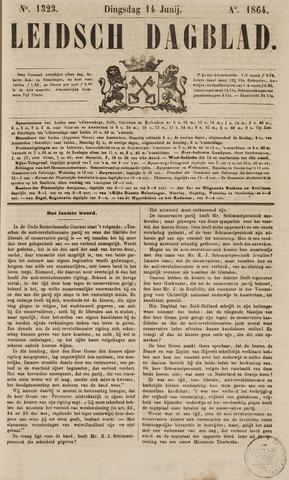 Leidsch Dagblad 1864-06-14