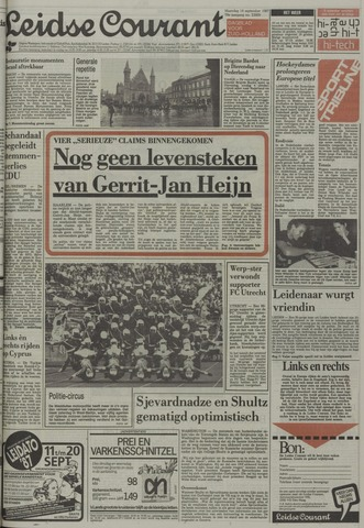 Leidse Courant 1987-09-14