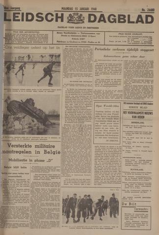 Leidsch Dagblad 1940-01-15