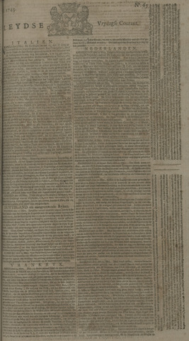 Leydse Courant 1743-05-31