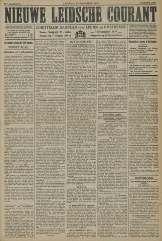 Nieuwe Leidsche Courant 1927-11-12