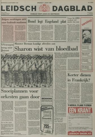 Leidsch Dagblad 1982-09-22