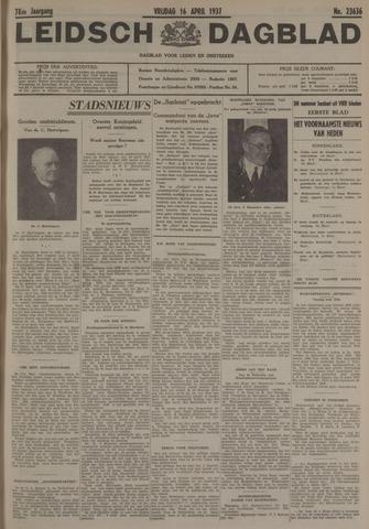 Leidsch Dagblad 1937-04-16